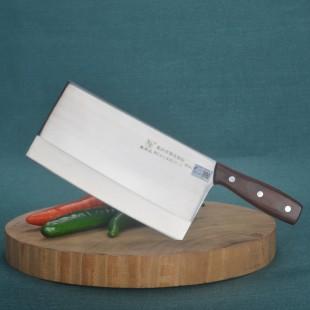 鑫荣达厨师菜刀切片刀 8铬不锈钢锻打厨房刀具专业厨刀肉刀 1号