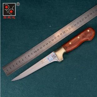 T4不锈钢锻打屠宰刀剔骨刀割肉刀