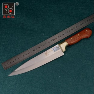 T6不锈钢锻打屠宰刀剔骨刀割肉刀