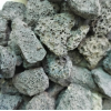 火山石 黑色非金属矿产制品厂家批发