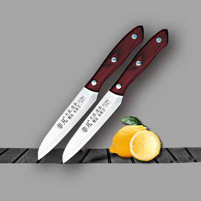彩木柄水果刀